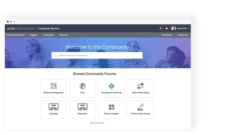 Communities | Shared Services Applications | ServiceNow