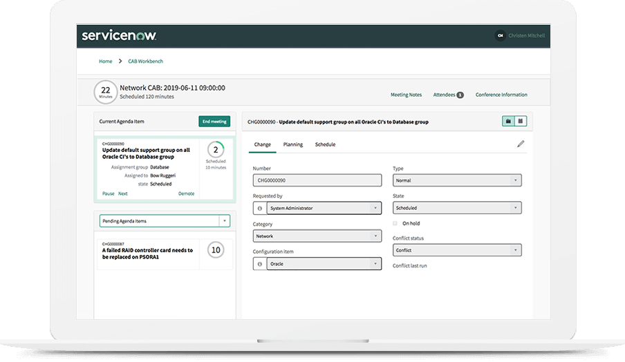 Change and Release Management | ServiceNow