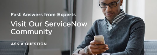 Welcome to ServiceNow Community