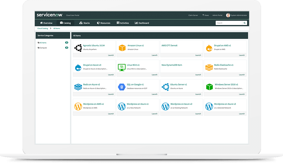 Cloud Management | ITOM Orchestration | ServiceNow