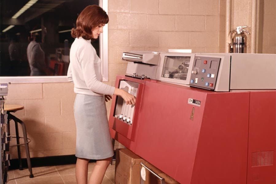 History of the office technology